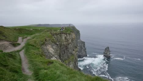 Ireland-County-Clare-Path-Along-Cliffs-Of-Moher