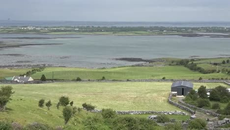 Ireland-County-Clare-Sun-And-Shadow-Across-Estuary-Pan