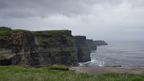 Ireland-County-Clare-View-All-Along-Cliffs-Of-Moher