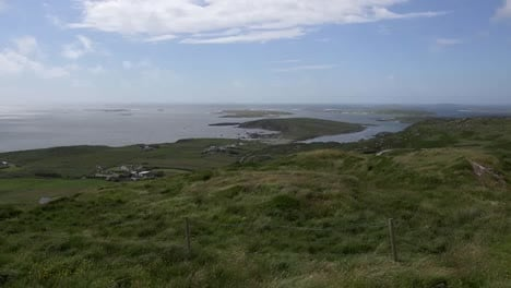Ireland-County-Galway-Connemara-View-Of-Islands-From-The-Sky-Road-