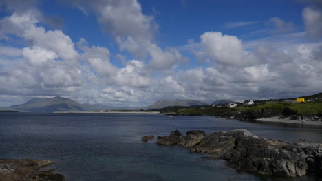 Ireland-County-Galway-Rinvyle-Coastal-View-With-Clouds