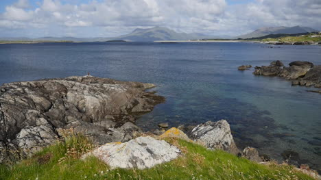 Ireland-County-Galway-Rinvyle-Coastal-View-With-Rock