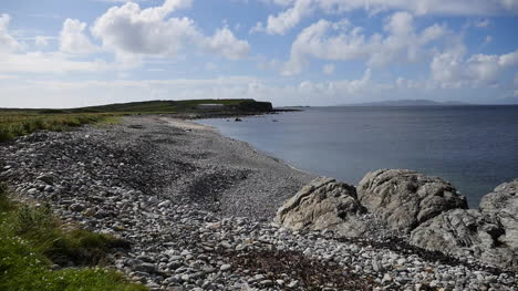 Ireland-County-Galway-Rinvyle-Rocky-View-Of-Beach