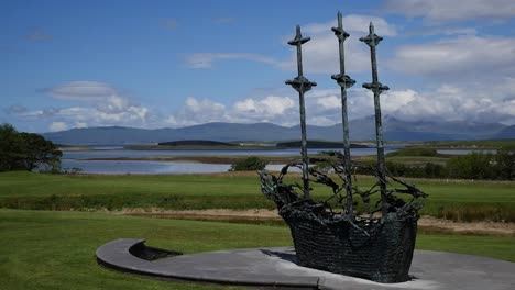 Ireland-County-Mayo-Coffin-Ship-Statue