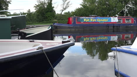 Ireland-County-Offaly-Sign-On-Canal-Boat