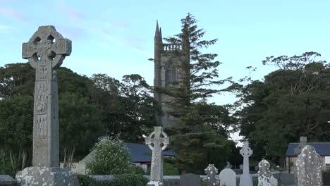 Ireland-County-Sligo-Celtic-Cross-In-Drumcliff-Cemetery-Zoom