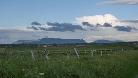 Ireland-County-Sligo-Clouds-Above-Distant-Benbulbin-