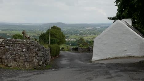 Ireland-County-Sligo-Cottage-On-The-Road-Up-Knocknarea