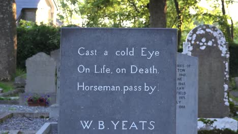 Ireland-County-Sligo-Grave-Of-W-B-Yeats-In-Drumcliff