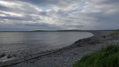 Ireland-County-Sligo-Pebble-Beach-In-Evening