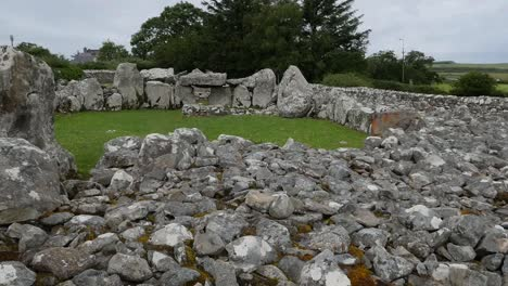 Ireland-Creevykeel-Court-Tomb-Wide-Angle-Establishing-Shot