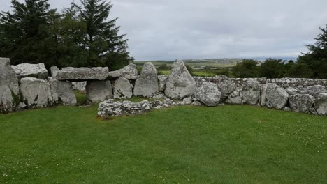 Ireland-Creevykeel-Court-Tomb-With-Coastal-Plain-Beyond
