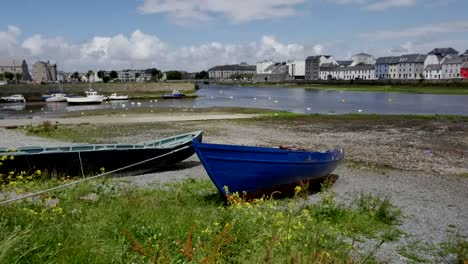 Ireland-Galway-City-Boats-Along-Bay-Shore