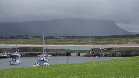 Ireland-Mullaghmore-Boats-In-A-Boat-Harbor