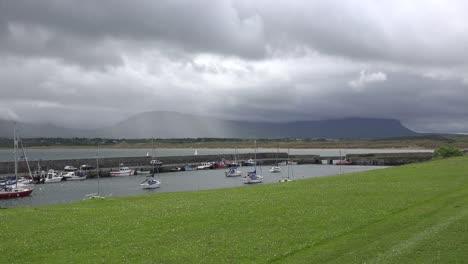 Ireland-Mullaghmore-Rain-Over-Ben-Bulbin