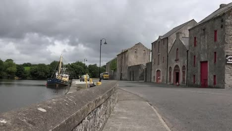 Ireland-Ramelton-County-Donegal-Warehouses-Along-The-River-Lennon-Pan