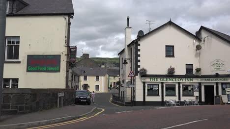 Northern-Ireland-Antrim-Side-Street-In-Town