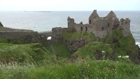 Northern-Ireland-Dunluce-Castle-On-Headland