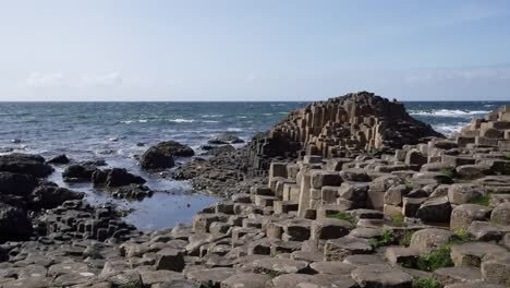 Northern-Ireland-Giants-Causeway-Extending-To-Sea