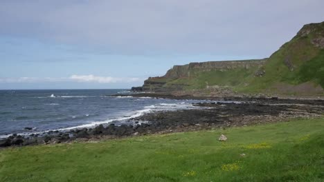 Northern-Ireland-Giants-Causeway-Grassy-Foreground