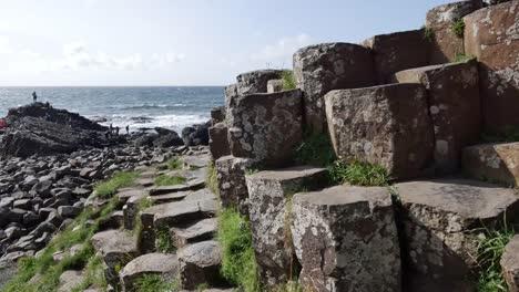 Northern-Ireland-Giants-Causeway-Hexagonal-Stones-Dominate-Foreground