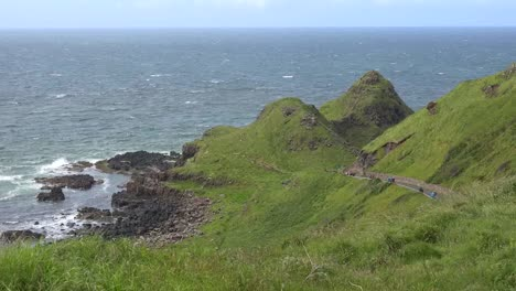 Northern-Ireland-Giants-Causeway-Path-Extending-To-Sea-