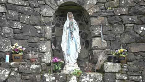 Northern-Ireland-Lourdes-Grotto-And-Virgin-Mary-Statue
