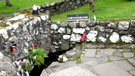 Northern-Ireland-St-Aidans-Holy-Well-And-Offerings