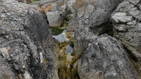 Northern-Ireland-A-Tide-Pool-Snuggled-In-Coastal-Rocks