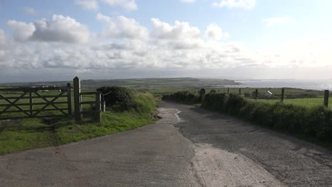 Northern-Ireland-View-Down-Road