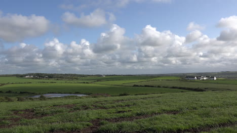Northern-Ireland-View-Over-Fields-With-Clouds