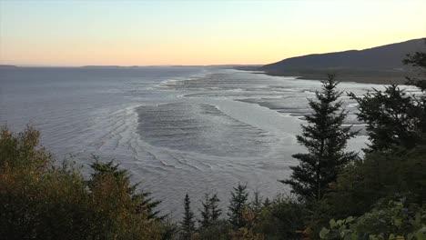 Canada-New-Brunswick-Vista-Of-Incoming-Tide