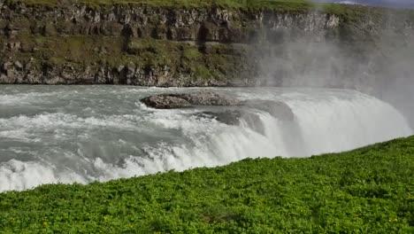 Iceland-Gullfoss-Waterfall-Water-Over-Edge