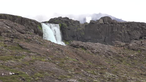Iceland-Pingvellir-Waterfall-Plunges-Over-Rift