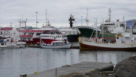 Iceland-Reykjavik-Boat-Harbor