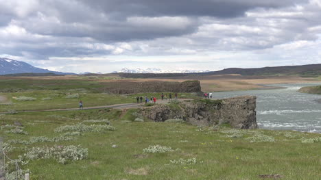 Iceland-Cliffs-Above-Gullfoss-Waterfall-Pan