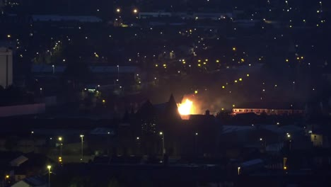 Irlanda-Del-Norte-Belfast-Und�cima-Noche-Hoguera-Oeste-Belfast-Irlanda-Del-Norte-Belfast-Undécima-Noche-Hoguera-Oeste-Belfast