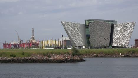 Northern-Ireland-Belfast-Titanic-Museum-With-Titanic-Studios-