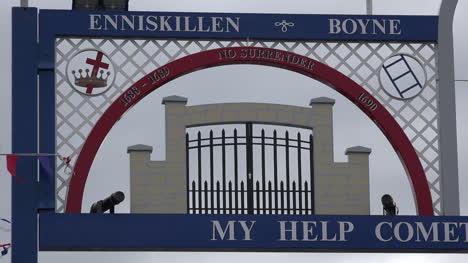 Northern-Ireland-Boyne-Detail-On-Orange-Arch-