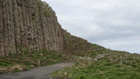 Northern-Ireland-Giants-Causeway-Path-Along-Cliff-