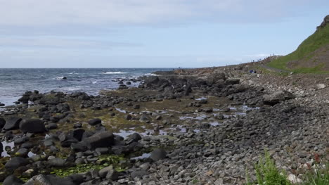 Northern-Ireland-Giants-Causeway-Pebble-Beach-And-Distant-View