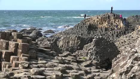 Northern-Ireland-Giants-Causeway-People-Exploring-Geology-