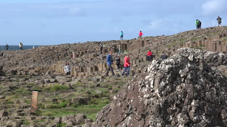 Northern-Ireland-Giants-Causeway-People-Exploring-Site-Pan