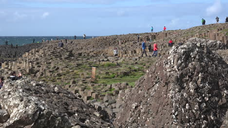 Northern-Ireland-Giants-Causeway-People-Exploring-Site