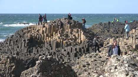 Northern-Ireland-Giants-Causeway-People-With-Geology