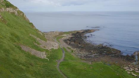 Northern-Ireland-Giants-Causeway-Rocky-Shore-