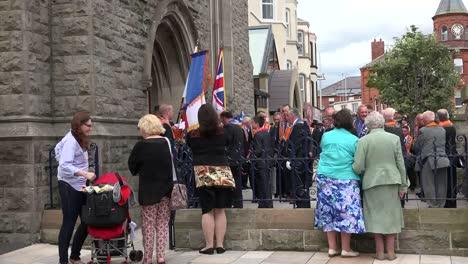 Northern-Ireland-Orangemen-Entering-Presbyterian-Church-