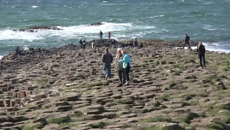 Northern-Ireland-Basalt-Columns-Descending-To-Sea-At-Giants-Causeway