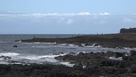 Northern-Ireland-Coastal-View-Of-Giants-Causeway