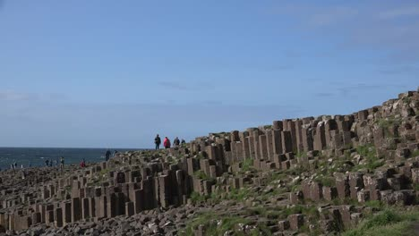 Northern-Ireland-Columns-Of-Basalt-On-Giants-Causeway-